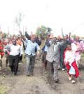 Kitengela hawkers demonstrate
